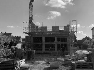 Haus W10 / Baufortschritt